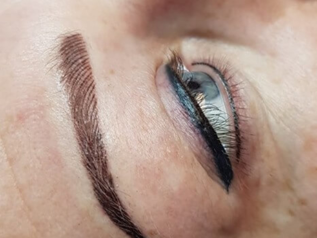 Permanent Make-Up, Eyeliner, Lidstrich