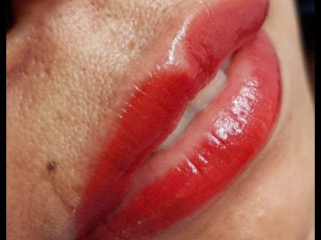 Permanent Make-Up, Lippen