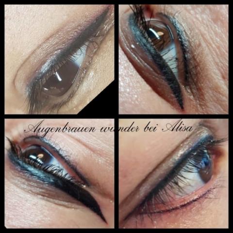 Permanent Make-Up, Eyeliner, Lidstrich